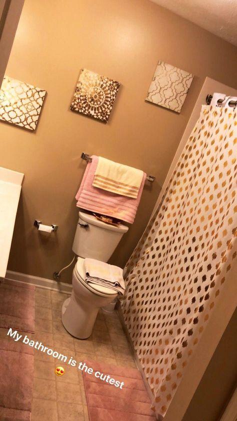 píntєrєѕt: íg: @níѕѕαdαdσn 🌈 Follow me for more live pins 💕 #bathroomimprovement