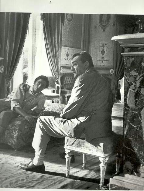 Alain with Luchino