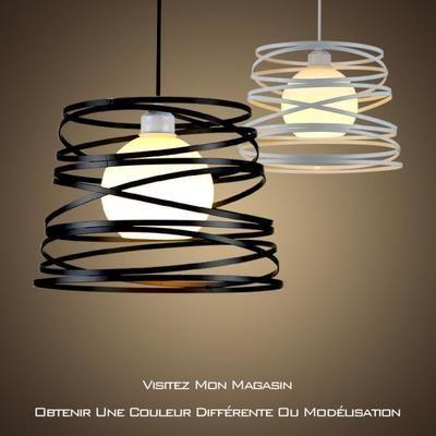Lodo Nordic Fer Personnalite Creative Lustre Salon Moderne