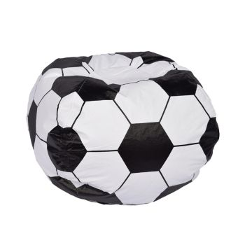 Acessentials Sports Bean Bag Chair White Bean Bag Chair Kids Kids Bean Bags Bean Bag Chair Covers