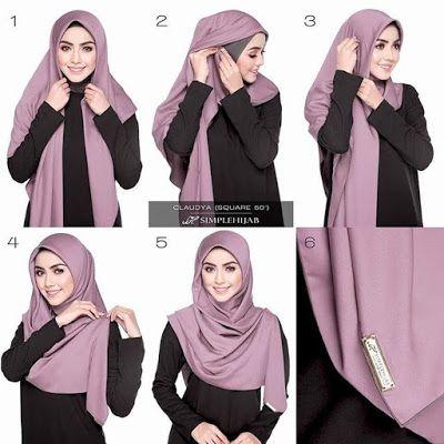 Tutorial Hijab Hijab Tutorial Hijab Mudah Kerudung