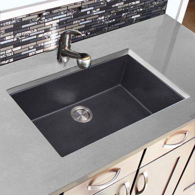 Porcela 31 L X 17 W Undermount Kitchen Sink Drop In Kitchen