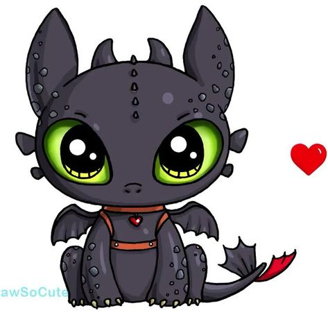Toothless/tandloos Dragon/draak - #Dragondraak #kawaii #Toothlesstandloos
