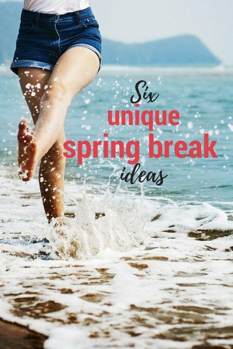 6 unique spring break destinations travel tips list frases rh pinterest es