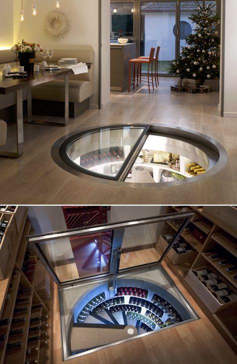 Underground Spiral Wine Cellar With Images Spiral Wine Cellar Home Wine Cellars Wine Cellar Design