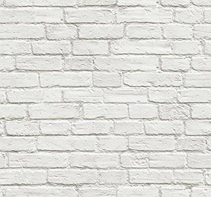 Amazon Com Abyssaly 16 X 118 White Wallpaper Glossy Vinyl Film Removable Self Adhesive Peel An Wallpaper Cabinets Kitchen Wallpaper Peel And Stick Wallpaper
