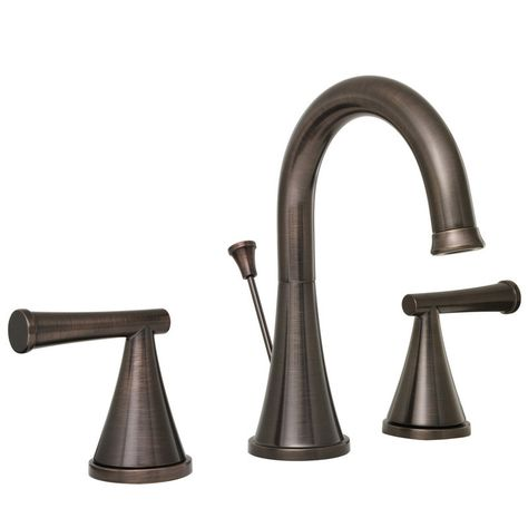 proflo pfws2860 moore widespread bathroom faucet tap oil rh pinterest ie