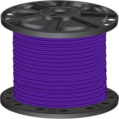 Southwire 1 000 Ft 6 Purple Stranded Cu Simpull Thhn Wire 48560702 The Home Depot Wire Cable Tray Cable Trays