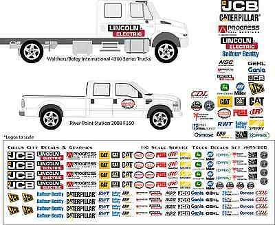 US Forest Service River Point Station Boley Truck Vehicle Decals HO Scale
