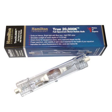 20K Aquarium Light Marine 14K 175W watt Metal Halide Mogul  SE  Bulb 10K
