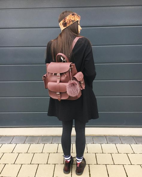 foto #fashion #backpack #style...