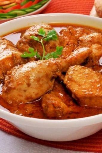 Ayam Bumbu Rujak Santan Resep Ayam Resep Makanan Makanan