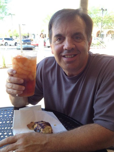 Happy National Ice Tea Day! Mike, our co-owner, loves to