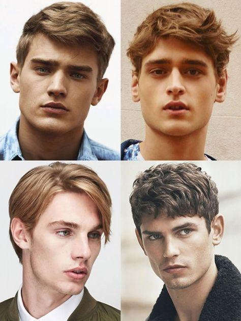 Frisuren Für Dreieckige Gesichter Männer Haarschnitte Für