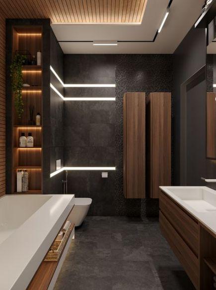63 Ideas Bathroom Modern Luxury Toilets Master Bathroom Design Bathroom Interior Design Modern Bathroom Design