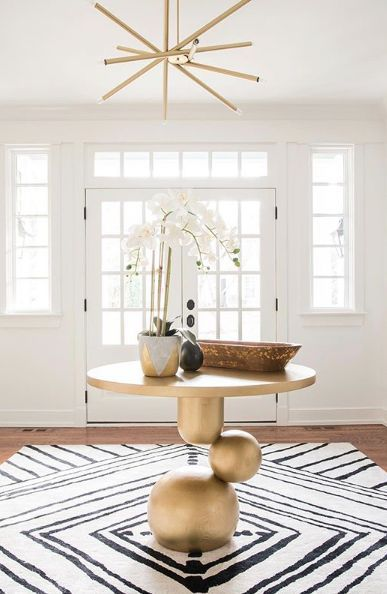 23 Trending Foyer Everyone Should Have Home Decoration Interior Design Ideas In 2020 Foyer Design Modern Foyer Round Foyer Table