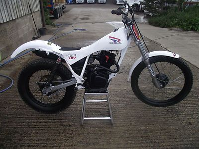 Honda Tlr 200 Twinshock Trials Bike Not Ty Ossa Pre 65