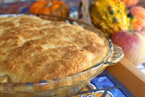 Eves Pudding traditional British apple dessert recipe