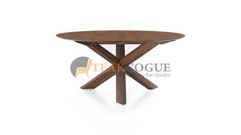 mingora round dining table 136 teak wood dining tables malaysia rh pinterest ru
