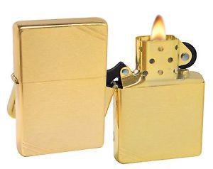 Zippo Lighter 240 1937 Vintage Series With Slashes Brushed Brass Windproof New Zippo Zippo Lighter Zippo Lighter