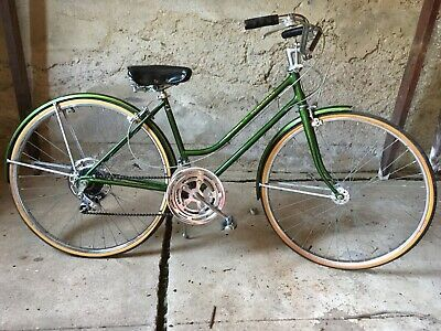 This Is A Vintage 1971 Schwinn Suburban Bicycle With The Original