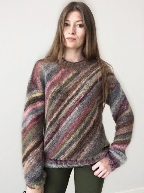 Cozy sweater, knitted sweater women, knit pullover, knitted jumper, mohair sweater, oversize sweater