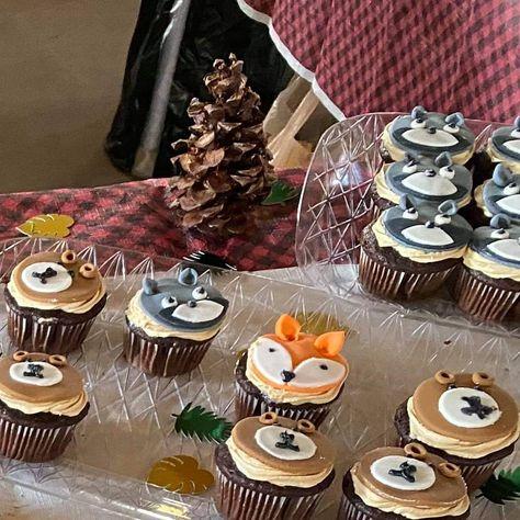 #cupcakes #fondant #1stbirthday #chocolate #peanutbutter #buttercream #woodlandanimals  #cake #cakes #cakedecorating #birthdaycakes #cupcakes #homemade #instafood #food #desert #bake #yummy #foodporn #pastry #bakery #baker #homemade #antrimnh #antrim #nh #foodie #frosting #baking