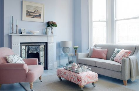 Transform any small space with the colours that are guaranteed to make a room look bigger.