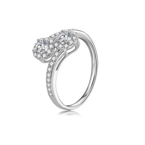 03b08156c 925 Sterling Silver Ring Birthday Gift Fashion Simple Ring in 2019 ...