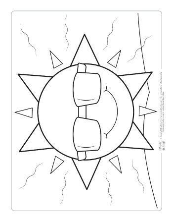 Weather Coloring Pages For Kids Sun Coloring Pages Summer Coloring Pages Preschool Coloring Pages