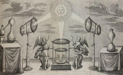 (Anonymous). Arcana Divina (The Divine Secret). 1725.