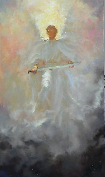 Image result for prophetic art messenger of Light