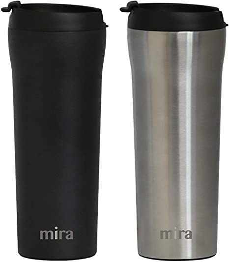 Top Quality New Stainless Steel 16 oz Travel Coffee Mug Cup Insulated BPA-Free