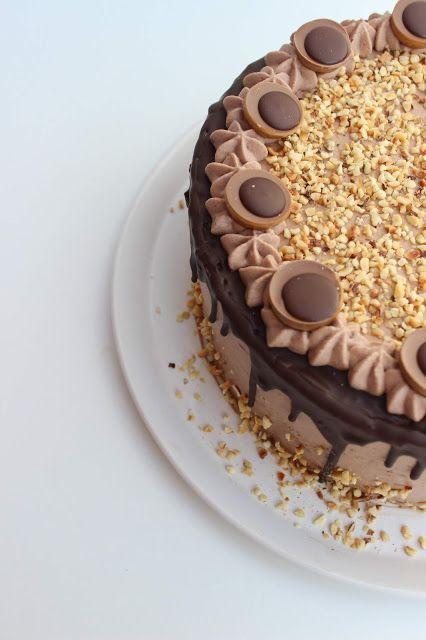 Gruensteinkitchen Nuss Nougat Toffifee Torte Toffifee Torte Toffifee Torte Ohne Backen Toffifee Torte Rezept