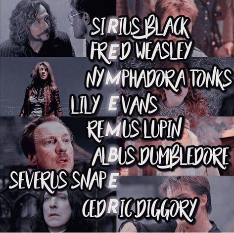 Harry Potter angst - #6