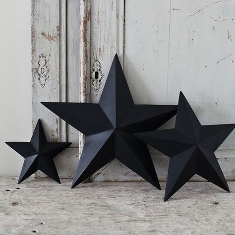 How to make: Shabby chic 3D cardboard stars