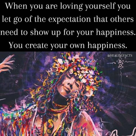 "Healing Guidance's Instagram profile post: ""You are responsible for your own happiness. Only when you unconditionally love yourself will you attract others to love you without…"""