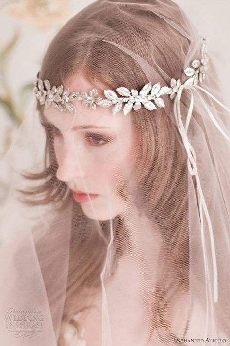 Enchanted Atelier Bridal Accessories - veil & accessories for bride