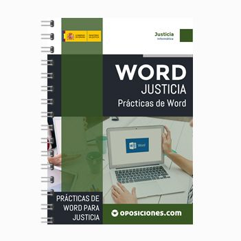 Prácticas Word Para Justicia Contenido Ya Tenemos A Vuestra Disposición Un Libro Con Un Manual De Word 2003 Y 40 Prácticas De Just Justicia Administrativas