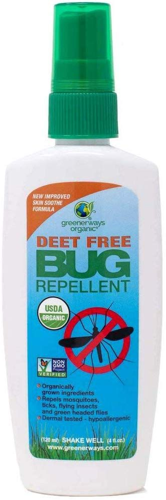 Amazon Com Greenerways Organic Natural Insect Repellant Deet