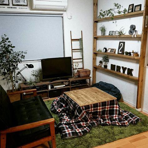 リビング/ディアウォール/グリーンのある暮らし/nikoand…/IKEA