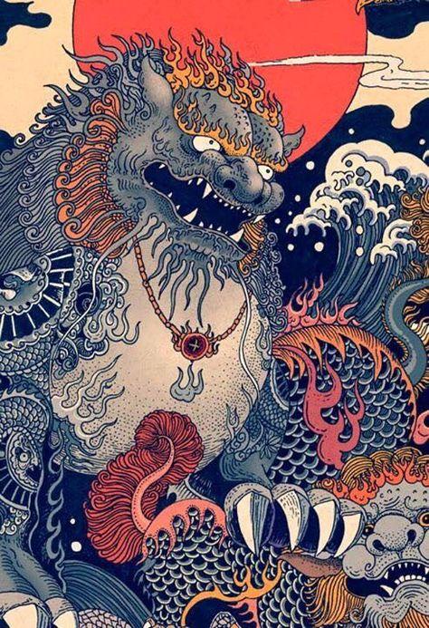 Irezumi The Meanings Of Traditional Japanese Tattoos & The Yakuza JapanJunky Japanese Tattoo Symbols, Japanese Tattoo Art, Japanese Sleeve Tattoos, Japanese Art Prints, Japanese Artwork, Irezumi Tattoos, Crow Tattoos, Phoenix Tattoos, Ear Tattoos