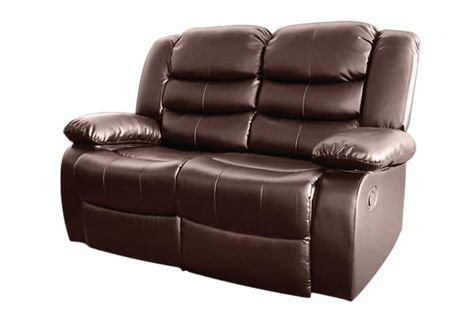 bonded leather dream 2 seater recliner couch brown in 2018 rh pinterest ie