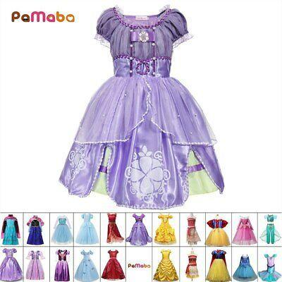 Disney Princess Infant Girls Blue Cotton Cinderella Sundress Baby Dress