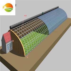Source Low Cost Passive Solar Greenhouse On M Alibaba Com Solar