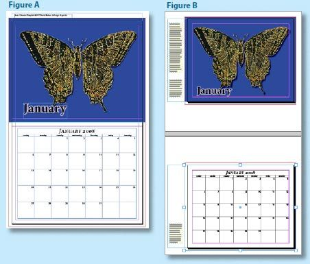 InDesign Calendar layout example InDesign Pinterest Calendar - Indesign Calendar Template