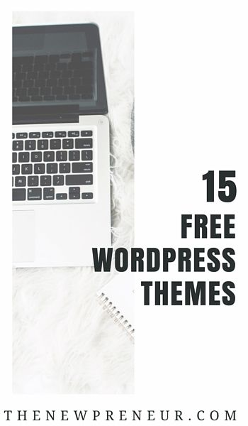 15 Free Wordpress Themes