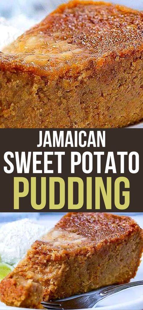 Vegan Jamaican Sweet Potato Pudding is the vegan version of this popular dessert enjoyed in Jamaica and the Caribbean throughout the year! It is very moist, rich, and indulgent!