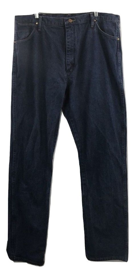 7a332d84b1 Details about Wrangler Men s Straight Fit 5 Pocket Pants Jeans with ...