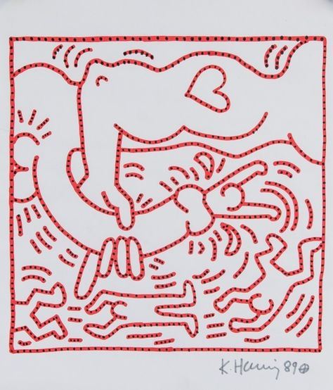 Haring Keith | A pop art (1989) | MutualArt
